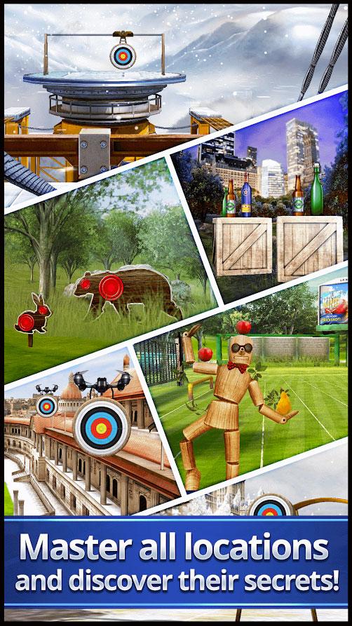 EmulatorPC Archery King Screenshot
