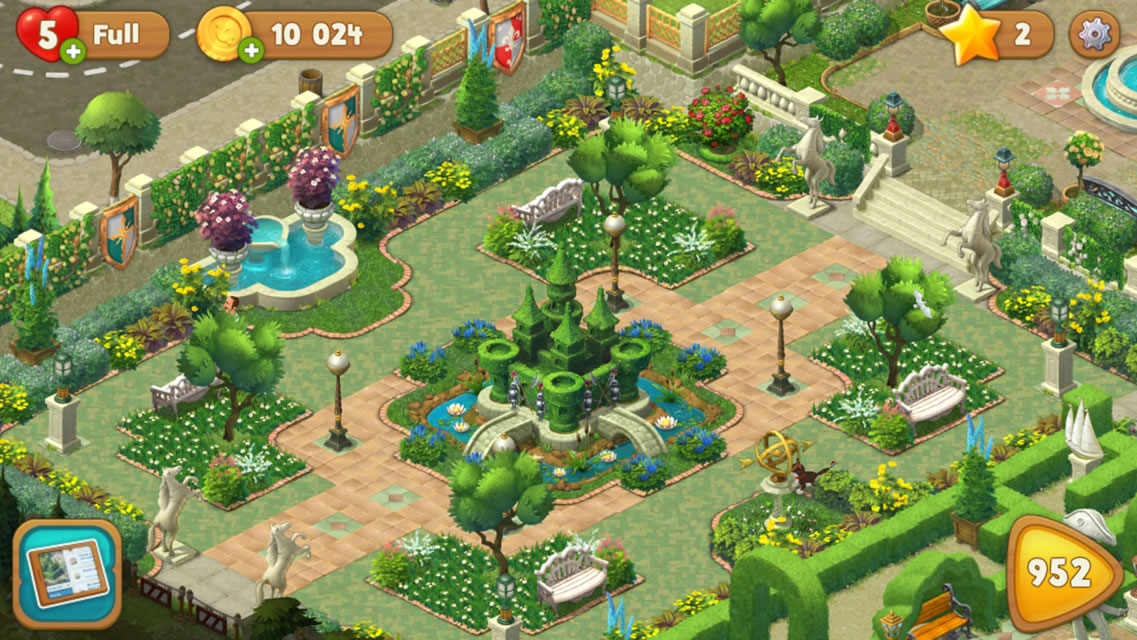 EmulatorPC Gardenscapes