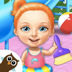 Sweet Baby Girl Cleanup 4 – House, Pool & Stable