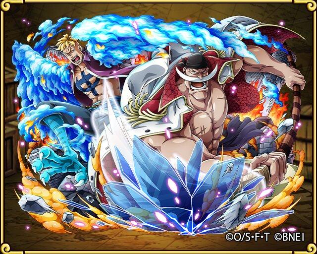 One Piece Whitebeard & Marco