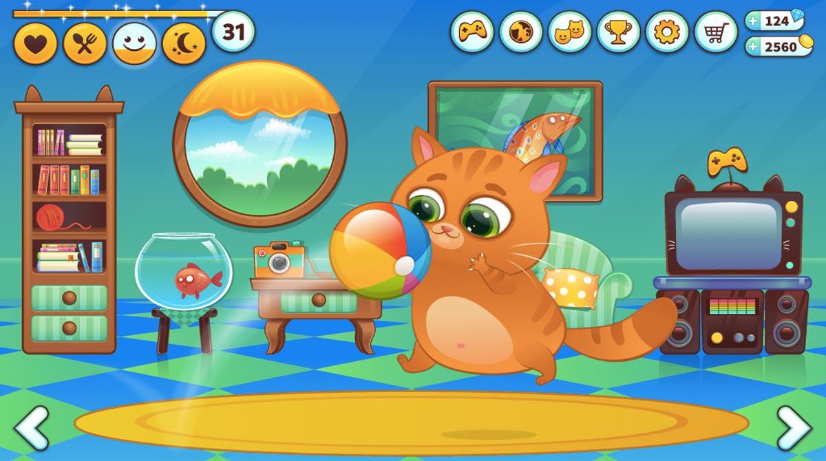Bubbu game screenshot