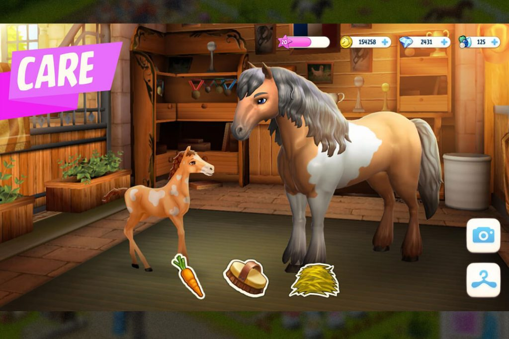Horse Haven World Adventures gameplay