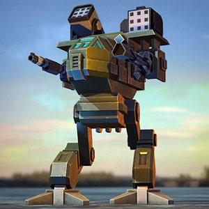 Pixel Robots Battleground