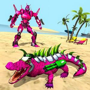 Real Robot Crocodile – Robot Transformation Game