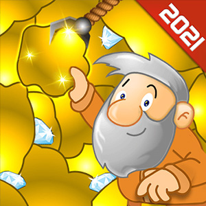 Gold Miner Classic: Gold Rush – Mine Mining Games