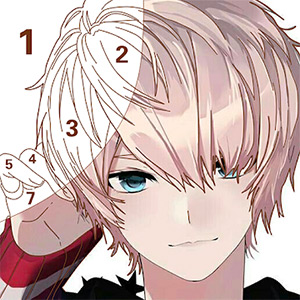 Tap Anime – Color By Number